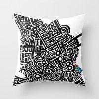 ABC Dream Throw Pillow