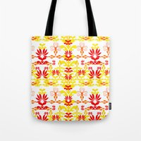 YELLOW RED Tote Bag