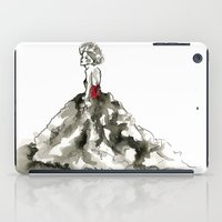 Lady in Red  iPad Case