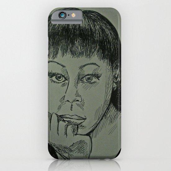 Adele Sketch iPhone & iPod Case