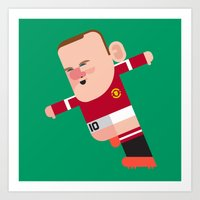 WR10 Mini | The Red Devi… Art Print