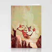 The Devil Is A Jerk Stationery Cards