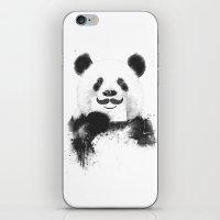 Funny Panda iPhone & iPod Skin