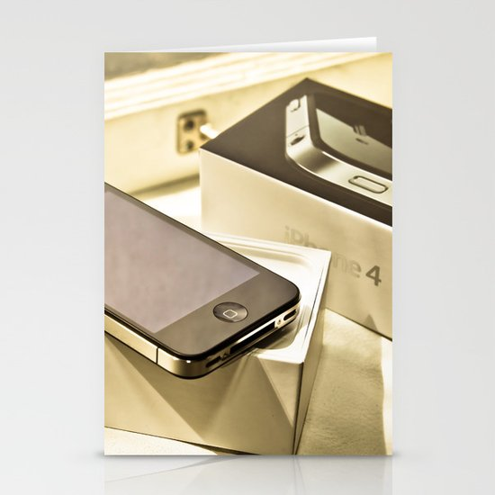 iPhone 4 Stationery Card