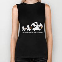 The Theory Of Evolution  Biker Tank
