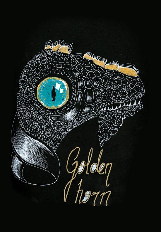 Golden Horn Art Print