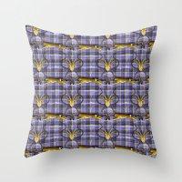 Wild Tartan Throw Pillow