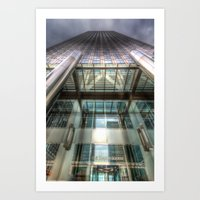 One Canada Square London Art Print