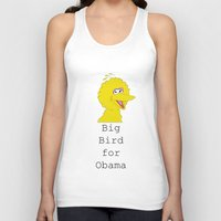 Big Bird For Obama!  Unisex Tank Top