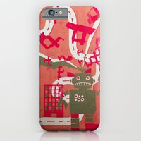 robot iPhone & iPod Cases featuring Robot by Jan Luzar