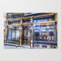 The Cockpit Pub London Canvas Print
