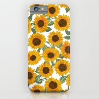 iPhone & iPod Case featuring SUNNY DAYS -sunflowers- by bows & arrows