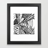 Post Modern Graphic Print Framed Art Print