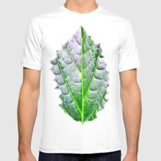 leaf nature Mens Fitted Tee White SMALL
