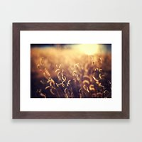For The Dream Framed Art Print