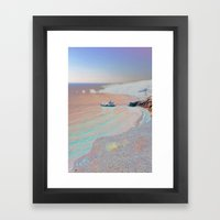 Chromascape 2 (Cyprus) Framed Art Print
