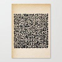 - micro - Canvas Print