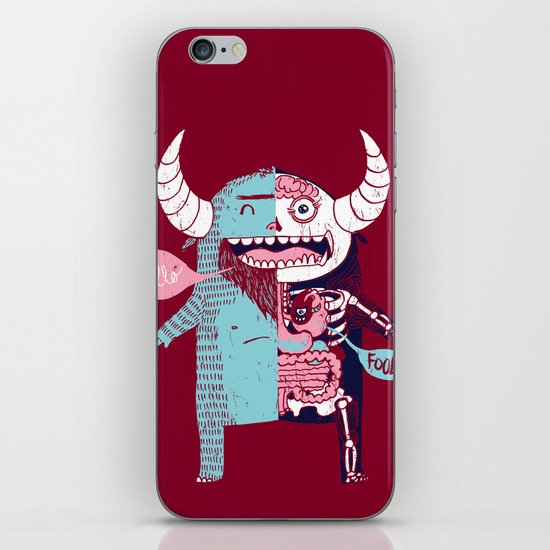 All Monsters are the Same iPhone & iPod Skin