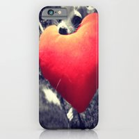 iPhone & iPod Case featuring Puppy Love by Libby B