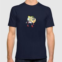 Piggy`s Wife ;) Mens Fitted Tee Navy SMALL