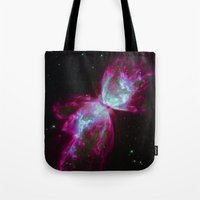 Space Winds Tote Bag