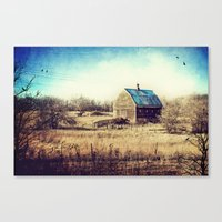 Interlude in Blue Canvas Print