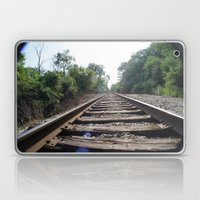Down The Tracks (1) Laptop & iPad Skin