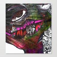 Roach Canvas Print