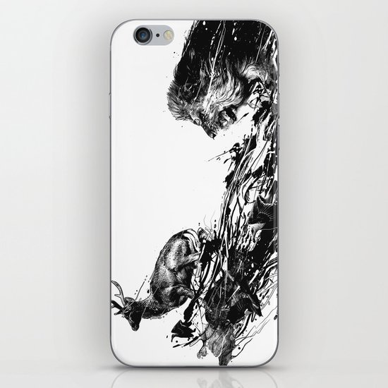 Intense Chasing iPhone & iPod Skin