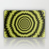 Yellow Explosion Laptop & iPad Skin