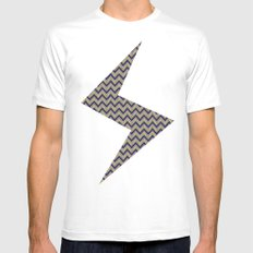 DIZ Mens Fitted Tee White SMALL