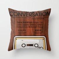 The Conversation Throw Pillow
