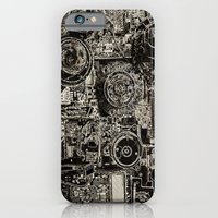 iPhone & iPod Case featuring Electric Maze by mark jones