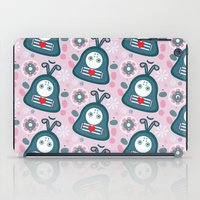 Funny bugs in love iPad Case