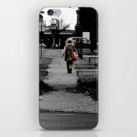 Woman Walking iPhone & iPod Skin