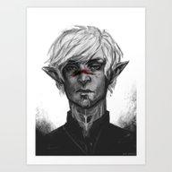 Dragon Age - Fenris Art Print