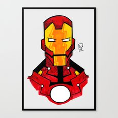 ironclad Canvas Print