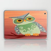 Owl All About It Laptop & iPad Skin