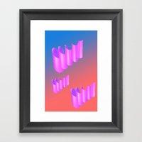 Twirps 2 Framed Art Print