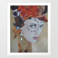 Aquamarine Art Print