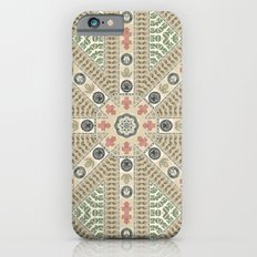 Abstract Currency Collage iPhone 6 Slim Case