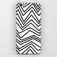 Graphic_Chevron freehand iPhone & iPod Skin