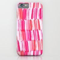 Hello watercolor iPhone 6 Slim Case
