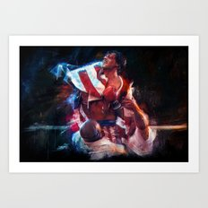 The win of my life is you Adrian! Art Print