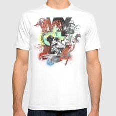 My Oh My Pt. II White Mens Fitted Tee SMALL