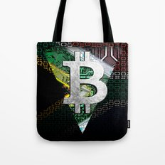 bitcoin South Africa Tote Bag