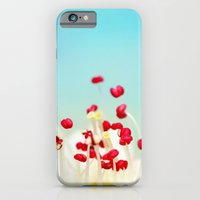 iPhone & iPod Case featuring Blooming Candy Red by Sharon Johnstone