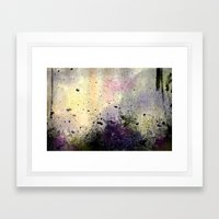 Abstract Mixed Media Des… Framed Art Print