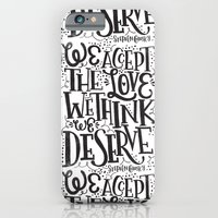 WALLFLOWER iPhone 6 Slim Case