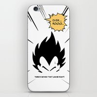 IT'S OVER 9000 (Dragonba… iPhone & iPod Skin